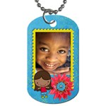 Girl 3-Dog Tag (2 sides) - Dog Tag (Two Sides)