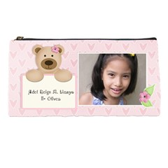 Pencil Case   Bear (girl) By Jennyl   Pencil Case   Xtchs9covgbm   Www Artscow Com Front
