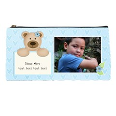 Pencil Case   Bear (boy) By Jennyl   Pencil Case   Xcb8s96vh5le   Www Artscow Com Front