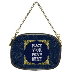 Gold And Blue Chain Purse Two Sided By Chere s Creations   Chain Purse (two Sides)   76nu05930cmx   Www Artscow Com Back