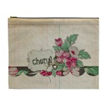 Large zippered pouch - Cosmetic Bag (XL)