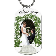Our Day (2 Sided) Dog Tag By Deborah   Dog Tag (two Sides)   S0i62ha4eqmg   Www Artscow Com Front
