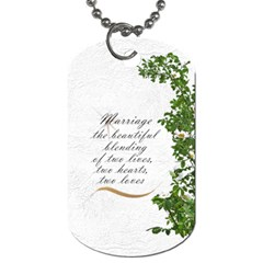 Our Day (2 Sided) Dog Tag By Deborah   Dog Tag (two Sides)   S0i62ha4eqmg   Www Artscow Com Back