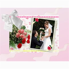 Our Wedding Or Anniversary 2017 (any Year) Calendar By Deborah   Wall Calendar 11  X 8 5  (12 Months)   Fbyf19qko64u   Www Artscow Com Month