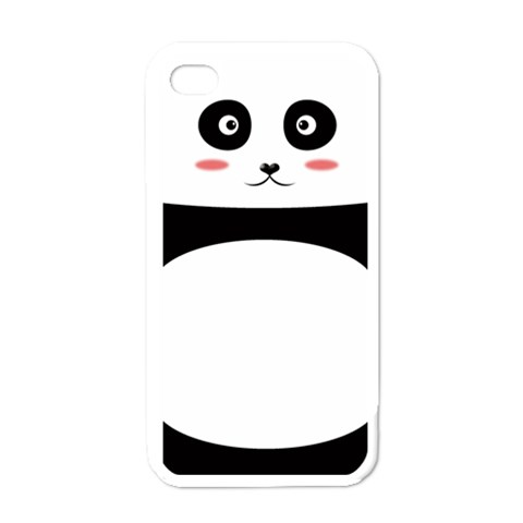 Panda By Clince   Apple Iphone 4 Case (white)   2fbzq63dg9t3   Www Artscow Com Front