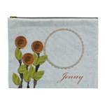 Cosmetic Bag (XL)- My Flower Garden