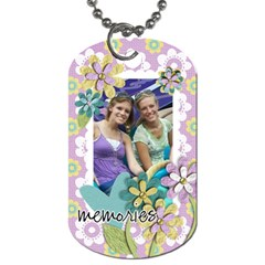 Dog Tag By Mikki   Dog Tag (two Sides)   194cddnurkvk   Www Artscow Com Front