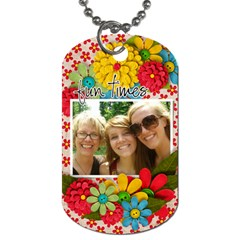 Dog Tag By Mikki   Dog Tag (two Sides)   194cddnurkvk   Www Artscow Com Back