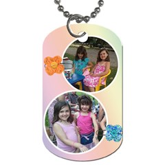 A Year In Review Dog Tag By Jolene   Dog Tag (two Sides)   Ardeyy57jtwv   Www Artscow Com Front