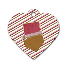 I Heart Dog Tag 1 By Lisa Minor   Dog Tag Heart (two Sides)   Hlflddrquqnp   Www Artscow Com Back