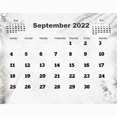 General Purpose Textured 2017 Calendar (large Numbers) By Deborah   Wall Calendar 11  X 8 5  (12 Months)   Kzefe08h2870   Www Artscow Com Sep 2017