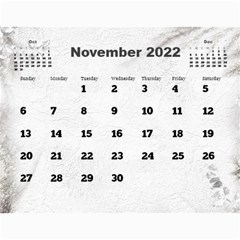 General Purpose Textured 2013 Calendar (large Numbers) by Deborah Nov 2013