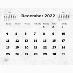 General Purpose Textured 2017 Calendar (large Numbers) By Deborah   Wall Calendar 11  X 8 5  (12 Months)   Kzefe08h2870   Www Artscow Com Dec 2017