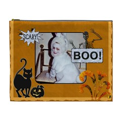 Halloween Xl Cosmetic Bag By Lil    Cosmetic Bag (xl)   Vjim7kqoum90   Www Artscow Com Front