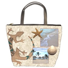 Tropical Travel Bucket Bag By Lil    Bucket Bag   6mcshqpqgxnc   Www Artscow Com Front