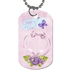 Rapunzel Tag Blank By Heather    Dog Tag (two Sides)   Zpc5hh2izwga   Www Artscow Com Back