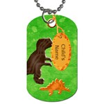 Dino Tag Template - Dog Tag (Two Sides)