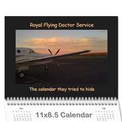 Rfds Calender By Rachael Moulden   Wall Calendar 11  X 8 5  (12 Months)   1nlyc5q2sf2a   Www Artscow Com Cover
