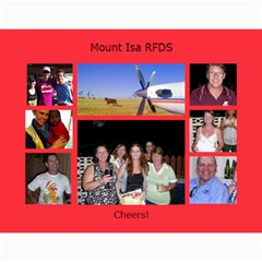 Rfds Calender By Rachael Moulden   Wall Calendar 11  X 8 5  (12 Months)   1nlyc5q2sf2a   Www Artscow Com Month