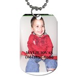 WYLIE 2011 - Dog Tag (Two Sides)