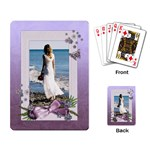 Purple-Heal-wedding-playing cards (single) - Playing Cards Single Design