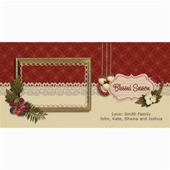 4x8 Photo Card: Blessed Season By Jennyl   4  X 8  Photo Cards   W9teemcz5ta4   Www Artscow Com 8 x4 Photo Card - 8