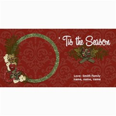4x8 Photo Card:  tis The Season By Jennyl   4  X 8  Photo Cards   Cn2rwwlz35w7   Www Artscow Com 8 x4 Photo Card - 1