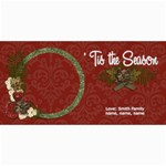 4x8 photo card:  Tis the Season - 4  x 8  Photo Cards