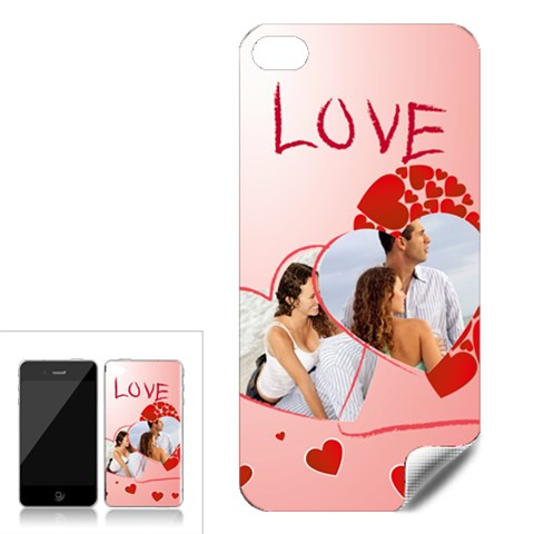 Love By Wood Johnson   Apple Iphone 4 Skin   Ehmz2mnfww1d   Www Artscow Com Front