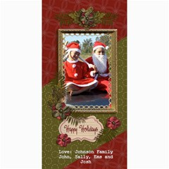 4x8 Photocard: (v) Happy Holidays by JennyL 8 x4 Photo Card - 4