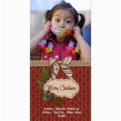 4x8 Photocard: (v) Merry Christmas2 By Jennyl   4  X 8  Photo Cards   Nqzqiwl36hae   Www Artscow Com 8 x4 Photo Card - 5