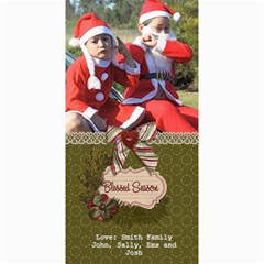 4x8 Photocard: (v) Blessed Season By Jennyl   4  X 8  Photo Cards   R9i1dsd5zr6t   Www Artscow Com 8 x4 Photo Card - 4