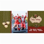 4x8 Photo Card: Happy Holidays - 4  x 8  Photo Cards