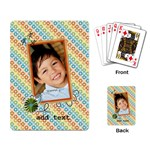 Playing Cards: Cool Dude2 - Playing Cards Single Design