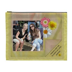 Friends Are Like Flowers Xl Cosmetic Bag By Lil    Cosmetic Bag (xl)   R699qs15c18b   Www Artscow Com Front