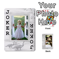 Our Wedding 54 Design (2 Sided) Cards By Deborah   Playing Cards 54 Designs   H5njzerm4p6x   Www Artscow Com Front - Joker1