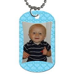 B By Erin Tarrants   Dog Tag (two Sides)   Bw934t7nn3ah   Www Artscow Com Front