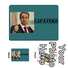Who Would Win Casero By Neftali Blanco   Multi Purpose Cards (rectangle)   T53kapxdyr8b   Www Artscow Com Front 11