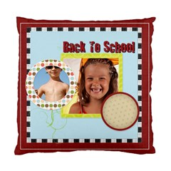 Back To School By Joely   Standard Cushion Case (two Sides)   Enzt5ndz90ii   Www Artscow Com Back