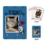 Love My Cat Playing Cards - Playing Cards Single Design
