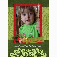 Christmas Tree/holiday 5x7 Photo Card By Mikki   5  X 7  Photo Cards   I2w2e92hg3xu   Www Artscow Com 7 x5 Photo Card - 1