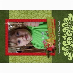 Christmas Tree/holiday 5x7 Photo Card By Mikki   5  X 7  Photo Cards   I2w2e92hg3xu   Www Artscow Com 7 x5 Photo Card - 2