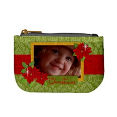 Stocking Stuffer/christmas Mini Coin Purse By Mikki   Mini Coin Purse   Yxaxol3b33pd   Www Artscow Com Front