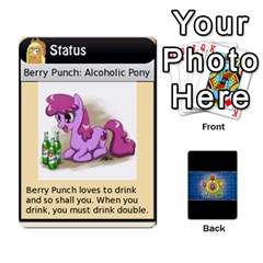 Pony Drinking Deck 1 By Gonzo Anon   Playing Cards 54 Designs   Z14us6cgtqoi   Www Artscow Com Front - Heart2