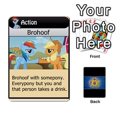 Pony Drinking Deck 1 By Gonzo Anon   Playing Cards 54 Designs   Z14us6cgtqoi   Www Artscow Com Front - Heart3