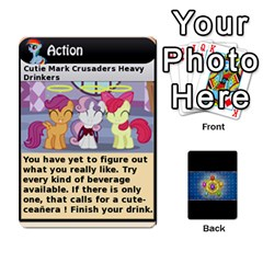 Ace Pony Drinking Deck 1 By Gonzo Anon   Playing Cards 54 Designs   Z14us6cgtqoi   Www Artscow Com Front - HeartA