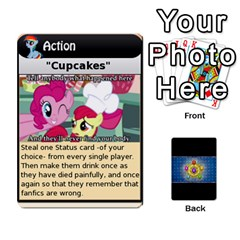 Pony Drinking Deck 1 By Gonzo Anon   Playing Cards 54 Designs   Z14us6cgtqoi   Www Artscow Com Front - Diamond4