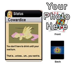 Pony Drinking Deck 1 By Gonzo Anon   Playing Cards 54 Designs   Z14us6cgtqoi   Www Artscow Com Front - Diamond8