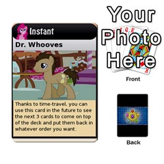 Pony Drinking Deck 1 By Gonzo Anon   Playing Cards 54 Designs   Z14us6cgtqoi   Www Artscow Com Front - Club9