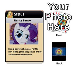 Pony Drinking Deck 3 By Gonzo Anon   Playing Cards 54 Designs   P5ldxxe1uuh8   Www Artscow Com Front - Heart3